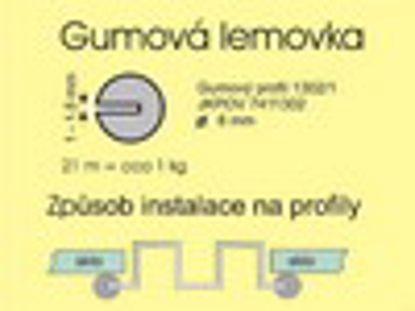 Obrázek Gumová lemovka ke skleníkům HOBBY
