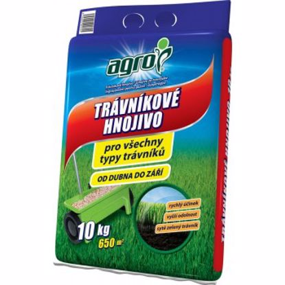 Obrázek AGRO trávníkové hnojivo 10 kg