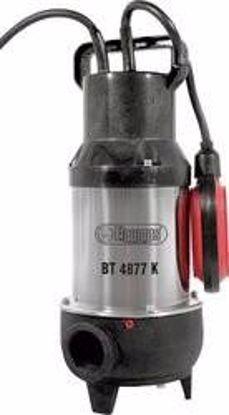 Obrázek ELPUMPS kalové čerpadlo do septiku s oběžným kolem (s řeznými noži)  BT 4877 K