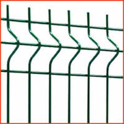 Obrázek Panel plotový JUPITER 1230X2500/ZN-PVC, barva zelená (osobní odběr)