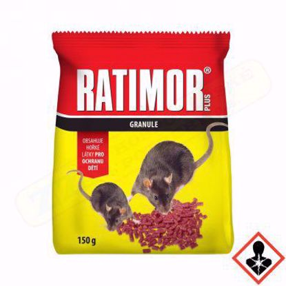 Obrázek RATIMOR PLUS granule 150 g, sáček