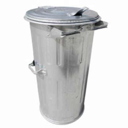 Obrázek Popelnice pozinkovaná MEVA 110 litrů