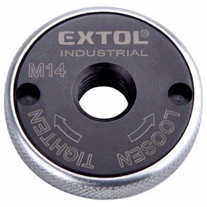 Obrázek EXTOL matice rychloupínací pro úhlové brusky, click-nut, M14 8798050