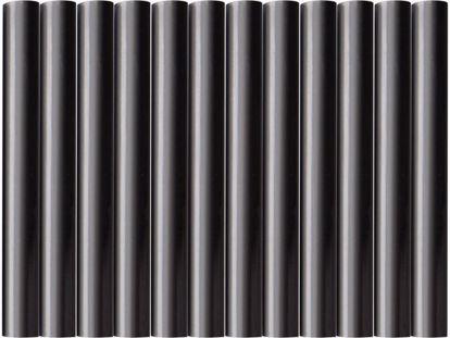 Obrázek EXTOL tyčinky tavné, černá barva, pr.11x100mm, 12ks