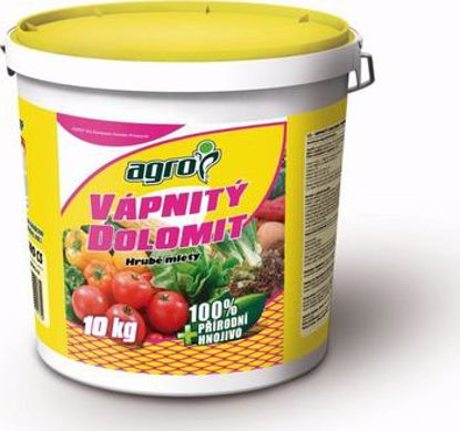 Obrázek AGRO vápnitý dolomit 10 kg / plastový kbelík