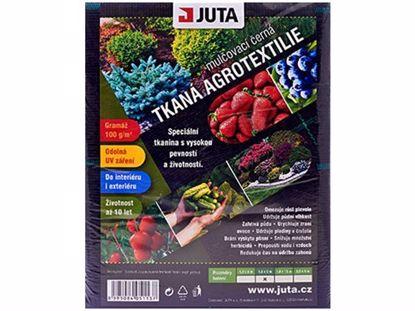 Obrázek JUTA textilie tkaná černá 1,6x5 (100g)