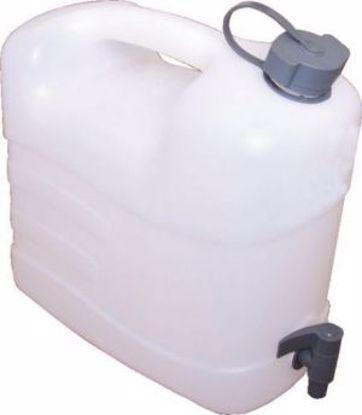 Obrázek Kanystr plastový na vodu s vypouštěcím kohoutem, 15 l