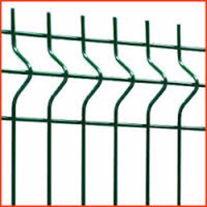Obrázek Panel plotový JUPITER 1530X2500/ZN/PVC, barva zelená (osobní odběr)