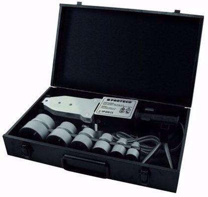 Obrázek PROTECO svářečka na plastové trubky 800/1500W pr. 20-63mm