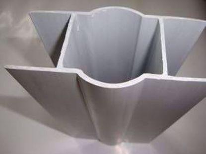 Obrázek RETIC držák podhrabových desek PVC na sloupek o půměru 48