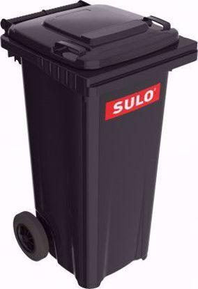 Obrázek Popelnice plastová černá SULO 120 litrů