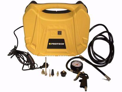 Obrázek Kompresor bezolejový mini 230V, 1100W, vč.příslušenství Proteco 51.02-MK-1100