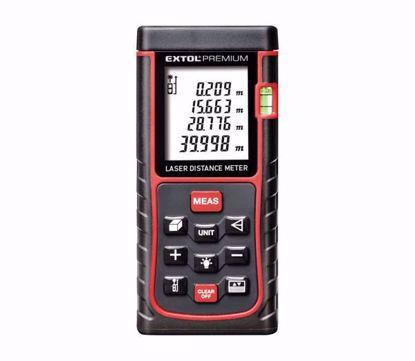 Obrázek EXTOL Premium 8820042 metr laserový digitální, 0,05-40 m