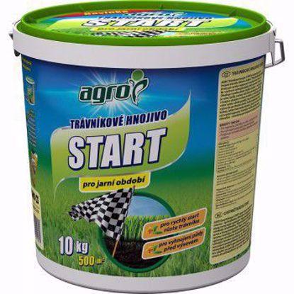 Obrázek AGRO Trávníkové hnojivo START 10kg kbelík