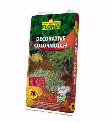 Obrázek AGRO CS decor color mulch barevný 70 litrů, mulčovací štěpka