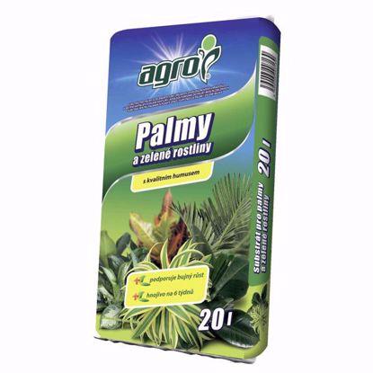 Obrázek AGRO Substrát pro palmy a zelené rostliny 20 l