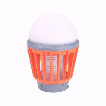 Obrázek EXTOL PREMIUM 43131 LED lucerna turistická s lapačem komárů 180lm, USB nabíjení, 3x 1W
