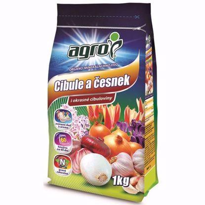 Obrázek AGRO Organominerální hnojivo cibule a česnek 1 kg