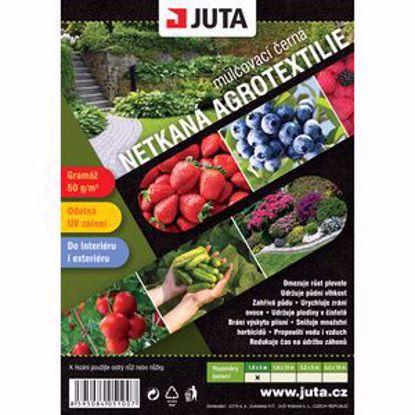 Obrázek JUTA netkaná textilie černá mulčovací 5 x 1,6 m, 50 g